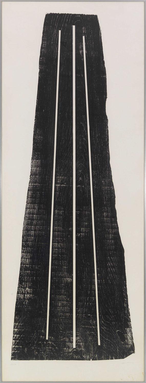 Hans Hartung - Gemeinschaftsarbeit mit Anna-Eva Bergman (1909-1987). H1973-24 / GB 42 1-1973 (2-teilig) - Frame image