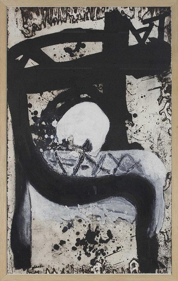 Antoni Tàpies - Crani I cadira - Rahmenbild
