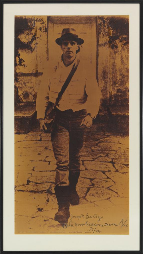 Joseph Beuys - La Rivoluzione siamo noi - Rahmenbild