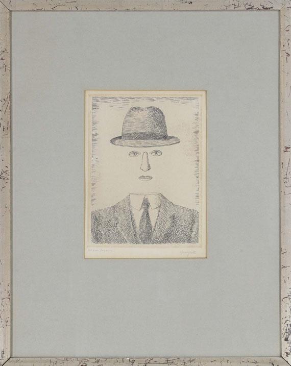 René Magritte - Paysage de Baucis - Rahmenbild