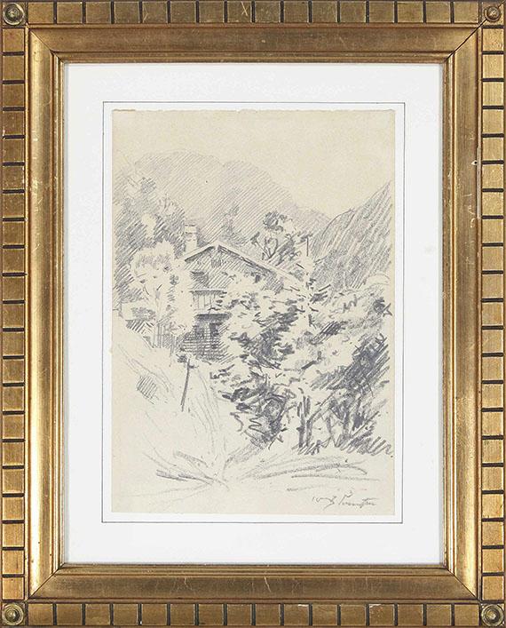 Lovis Corinth - Walchensee - Frame image
