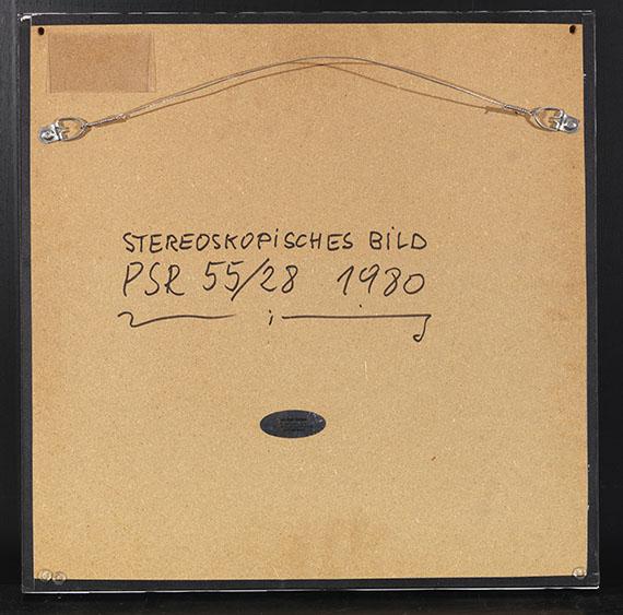 Ludwig Wilding - Stereoskopisches Bild - PSR 55/28 - Rückseite