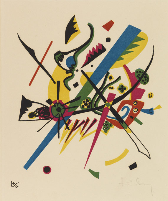 Wassily Kandinsky - Kleine Welten I