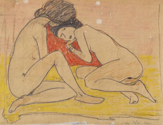 Otto Mueller - Zwei Mädchen