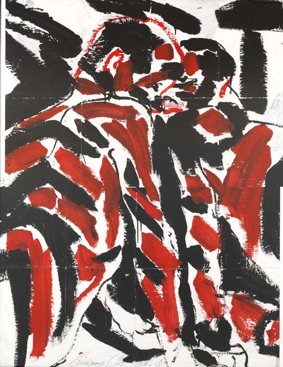 Luciano Castelli - Zebras (Selbstporträt mit Salomé)