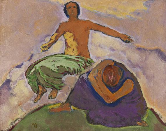Koloman Moser - Trauer und Hoffnung