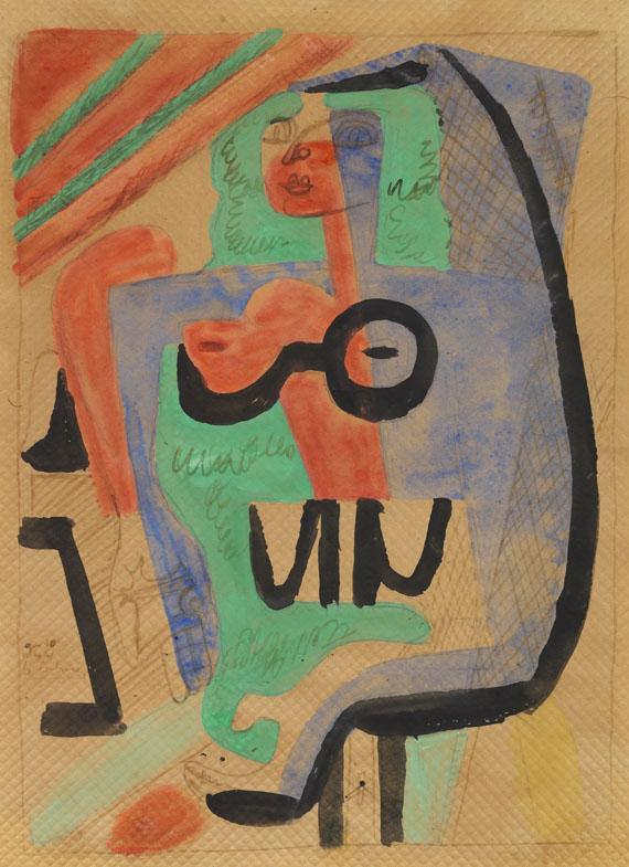 Le Corbusier - Ozon, femme assise