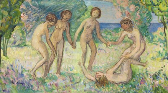 Henri Lebasque - La danse (étude)