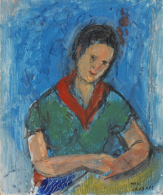 Marc Chagall - Portrait de Vava