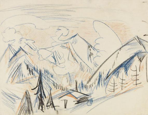 Ernst Ludwig Kirchner - Stafelalp