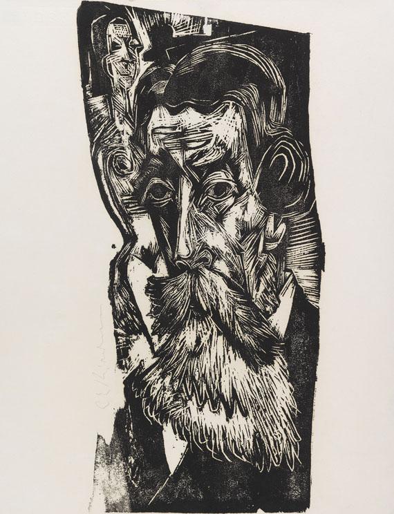Ernst Ludwig Kirchner - Kopf Ludwig Schames