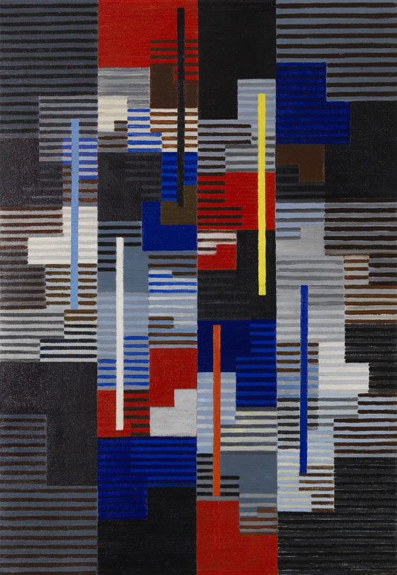 Adolf Richard Fleischmann - Composition #41
