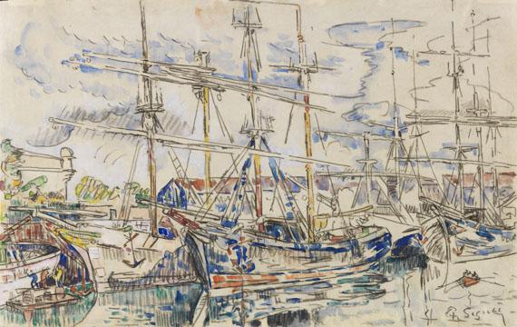 Paul Signac - Saint-Malo, les Terre-neuvas