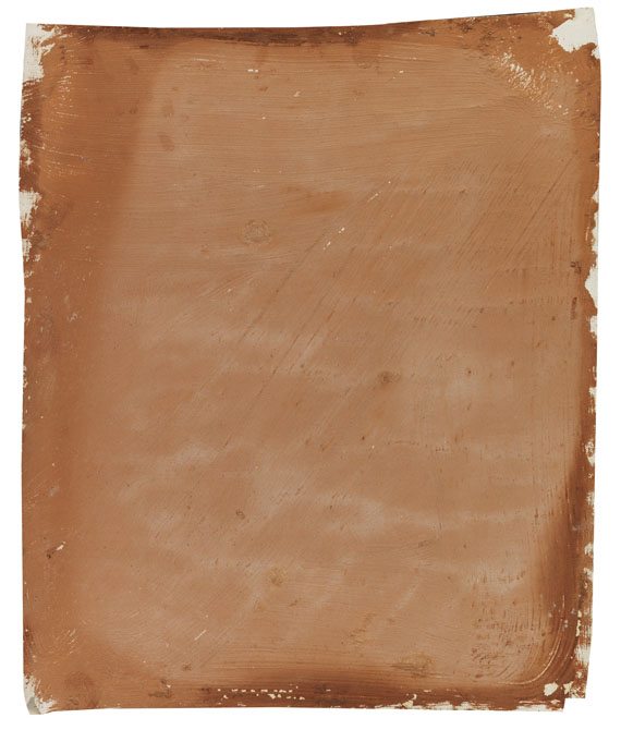 Andy Warhol - Chocolate Painting