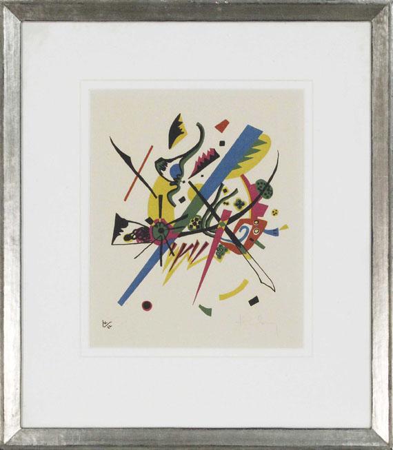 Wassily Kandinsky - Kleine Welten I - Frame image