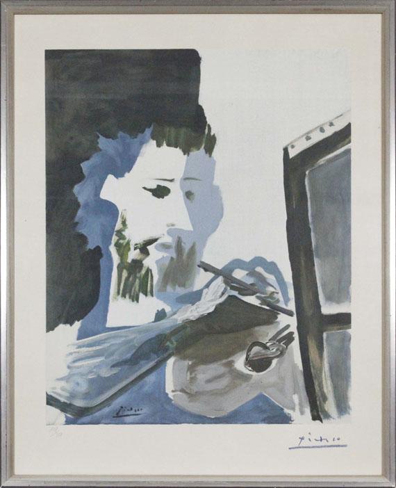 Pablo Picasso - Le Peintre - Frame image