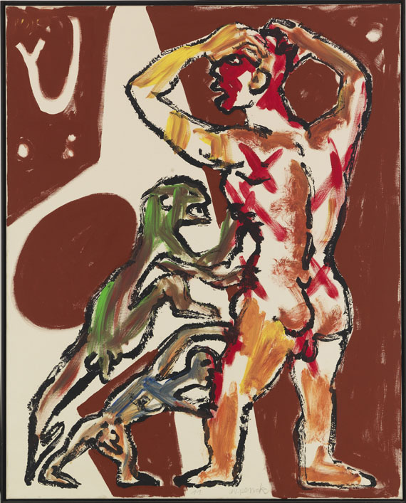 A. R. Penck (d.i. Ralf Winkler) - Der letzte NVA Pilot - Frame image