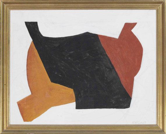 Serge Poliakoff - Rouge noir blanc - Rahmenbild