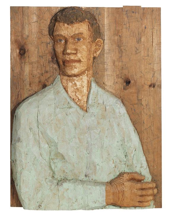 Stephan Balkenhol - Relief (Mann)