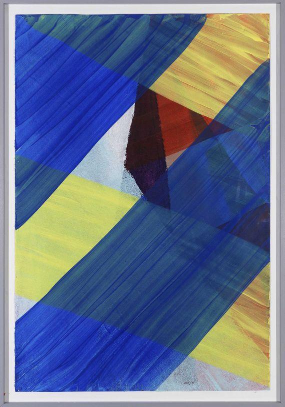 Katharina Grosse - Ohne Titel - Frame image