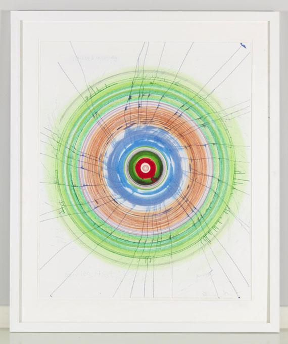 Damien Hirst - Twisted Insobriety - Rahmenbild