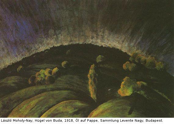 László Moholy-Nagy - Landschaft mit Häusern - Weitere Abbildung