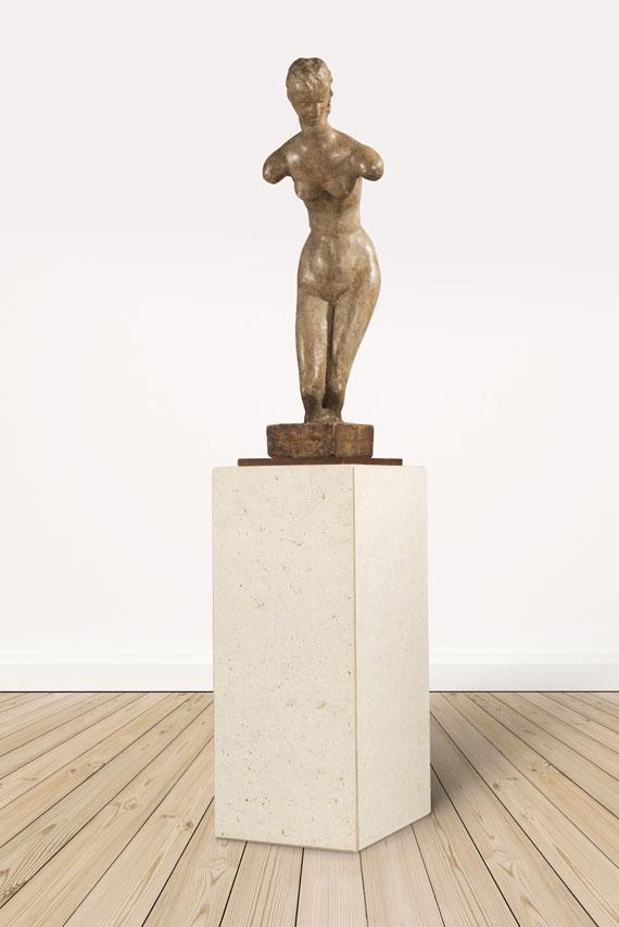 Wilhelm Lehmbruck - Gebeugter weiblicher Torso - Weitere Abbildung