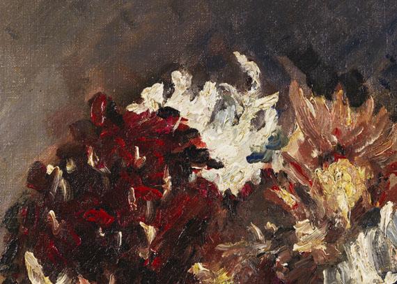 Lovis Corinth - Chrysanthemen im Krug -