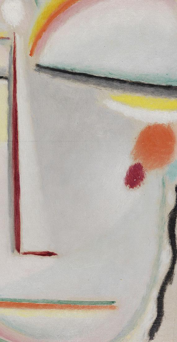 Alexej von Jawlensky - Abstrakter Kopf: Erleuchtung II -