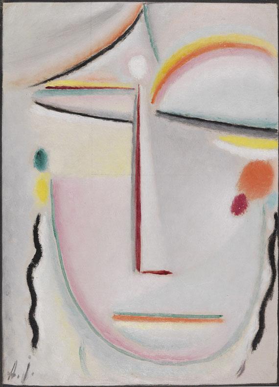 Alexej von Jawlensky - Abstrakter Kopf: Erleuchtung II