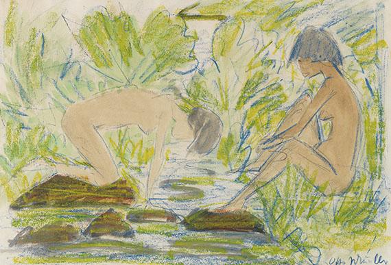Otto Mueller - Zwei Frauen