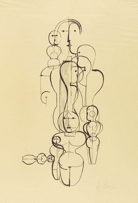 Bauhaus - Erste Mappe der Meister des Staatlichen Bauhauses in Weimar - Weitere Abbildung