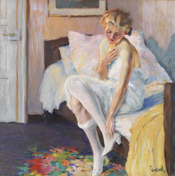 Edward Cucuel - Am Morgen