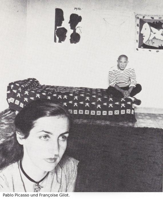 Pablo Picasso - Françoise - Weitere Abbildung