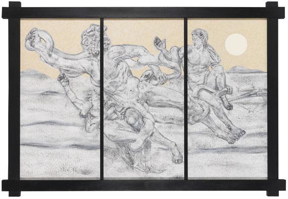 Richard Artschwager - Laocoon (Snakefite)