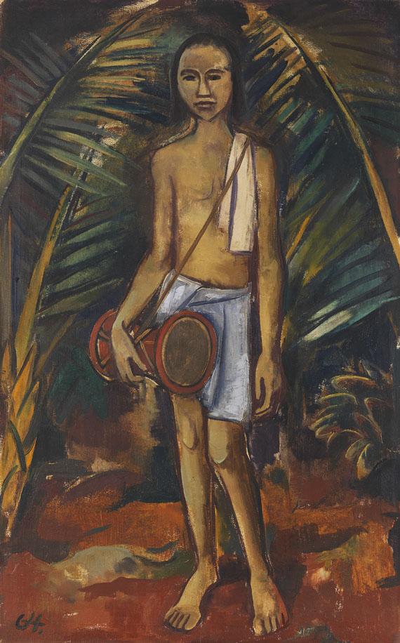 Karl Hofer - Hinduknabe