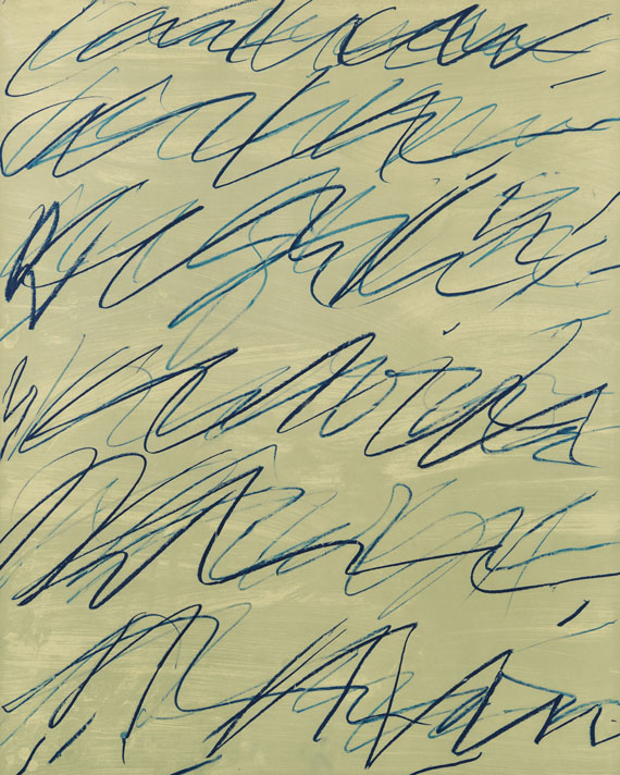 Cy Twombly - Roman Notes I