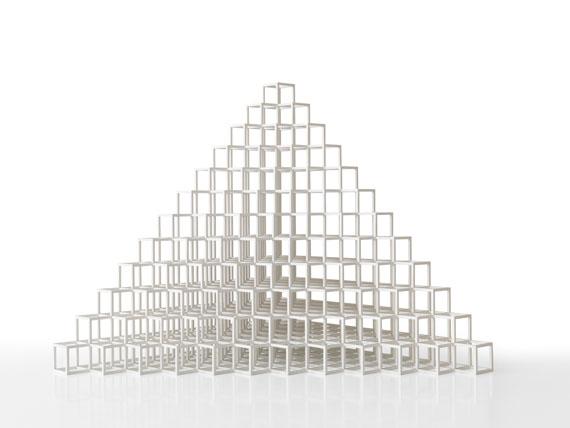 Sol LeWitt - Pyramid - Weitere Abbildung