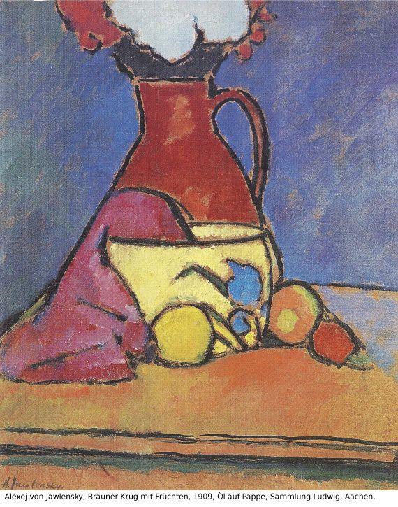 Alexej von Jawlensky - Der gelbe Topf - Weitere Abbildung