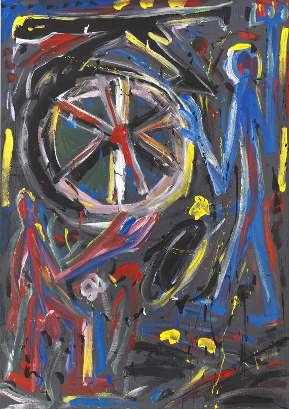 A. R. Penck (d.i. Ralf Winkler) - Rock 5