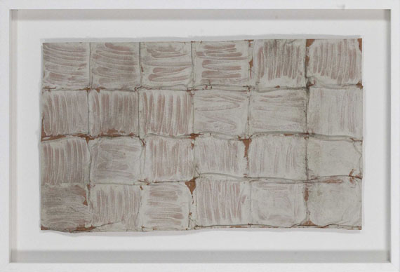 Herbert Zangs - Ohne Titel (Faltung) - Frame image