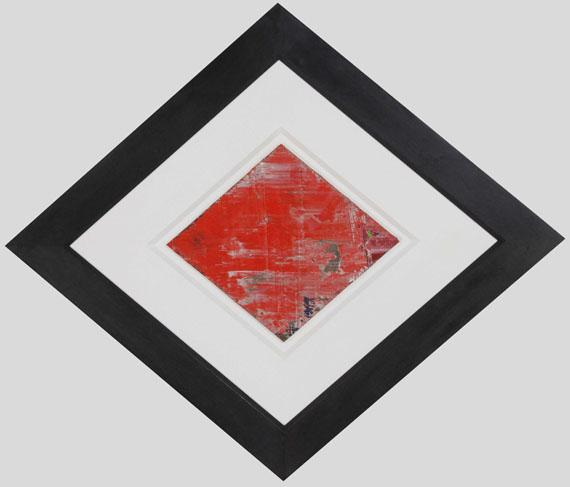 Gerhard Richter - Rhombus - Rahmenbild