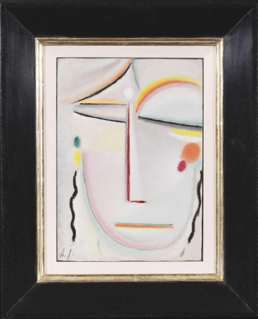 Alexej von Jawlensky - Abstrakter Kopf: Erleuchtung II - Frame image