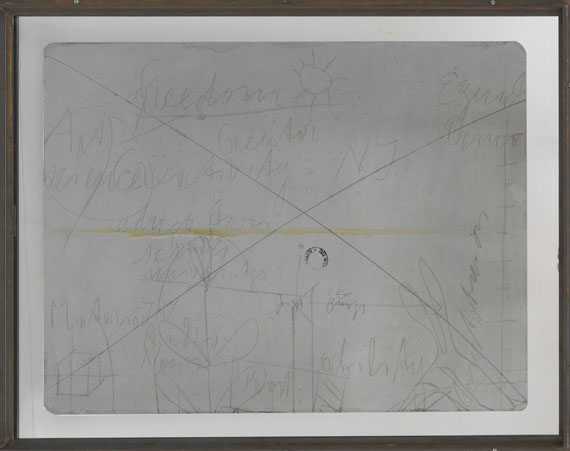 Joseph Beuys - Minneapolis Fragment - Rahmenbild