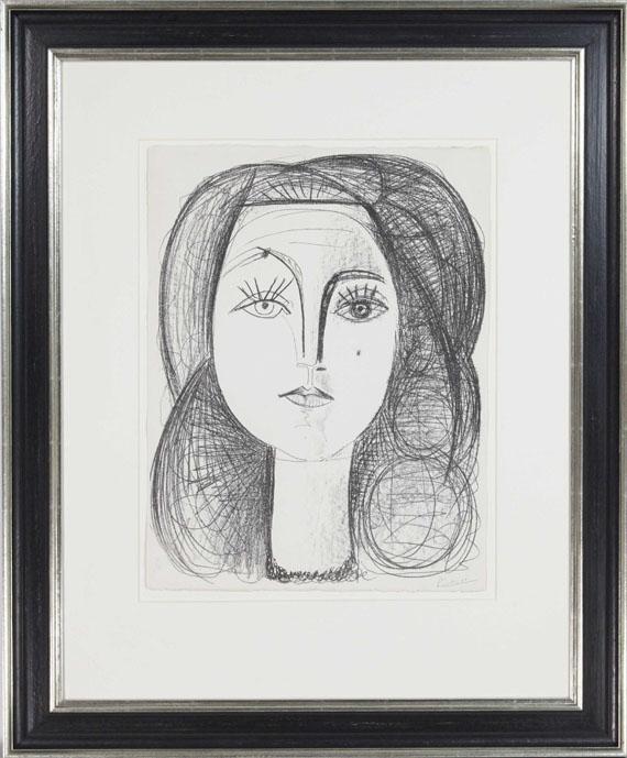 Pablo Picasso - Françoise - Rahmenbild