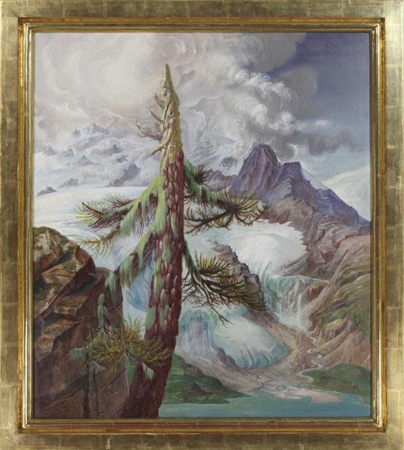 Otto Dix - Gletscher im Engadin - Rahmenbild