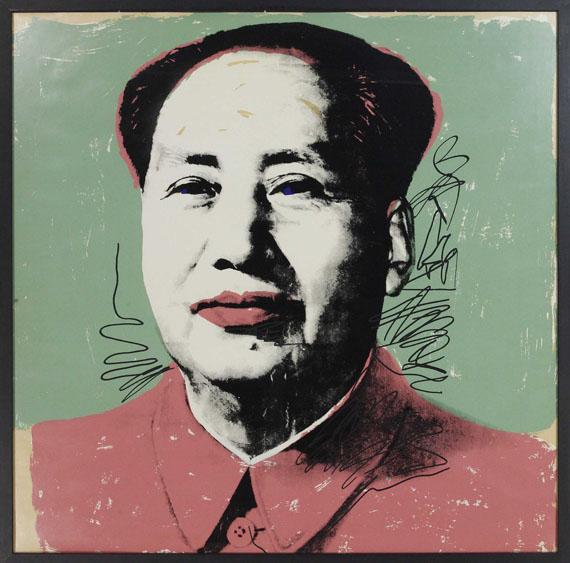 Andy Warhol - Mao - Rahmenbild