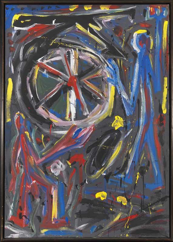 A. R. Penck (d.i. Ralf Winkler) - Rock 5 - Frame image