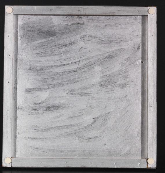 Heinz Mack - Lichtrelief - Rückseite