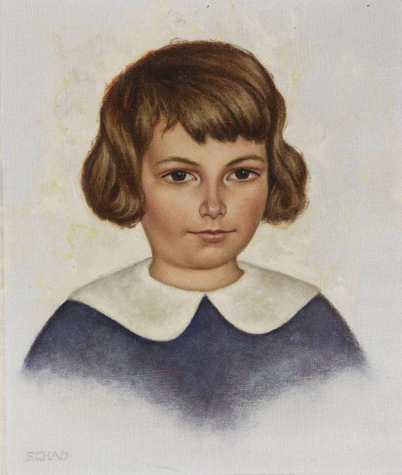 Christian Schad - Kinderbild Dagmar Berhard
